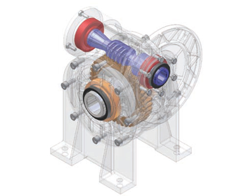 motoreduktory ślimakowe