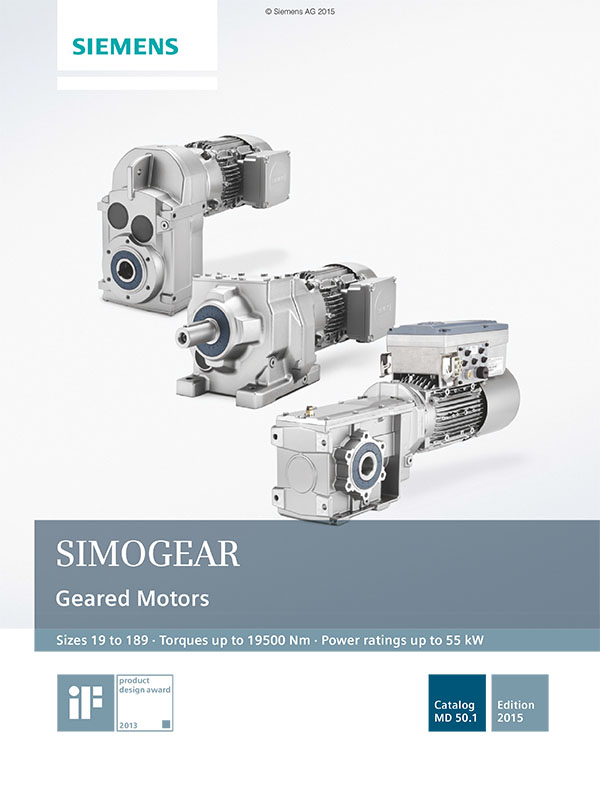 SIMOGEAR Geared Motors